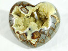 A Deep Crystal Cave on This BIG Septarian HEART Sculpture From Utah 1388gr