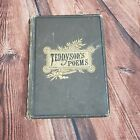 Antique Vintage Alfred Tennysons Poems Illustrated Excelsior Edition Book