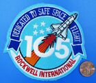 NASA PATCH vtg Space Shuttle ENDEAVOUR OV 105 Rockwell International employees