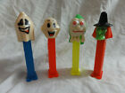 Pez Lot 4 Halloween Ghosts: Naughty Neil, Happy Henry, Slimy Sid & Witch issue D