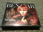 PAT BENATAR ~ ALL FIRED UP / THE VERY BEST OF ~ 2xCD FATBOX 1994 ~ EX/NM