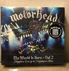 MOTORHEAD-THE WORLD IS OURS VOL 2 ANYPLACE CRAZY AS ANYWHERE ELSE RARE