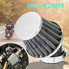 4Pcs New Motorcycle Air Filter 42mm Universal Fit For 50cc 110cc 125cc 140cc
