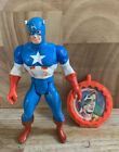 MARVEL SUPER HEROES SECRET WARS Captain America  Shield Figure Mattel 1984