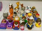 Fisher Price Little People Mixed Lot Of 28 Animals Wheelies Belle Beast Nativity