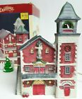 Lemax Dickensville Christmas Village 1993 Union Fire Co Lighted House Station