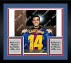 Framed Phillipe Coutinho FC Barcelona Autographed 2017-2018 Home Jersey ICONS