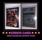 2006 MEGO MUSEUM 70s Super Knights BLACK KNIGHT ACTION FIGURE DOLL trading card
