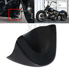 Black Chin Spoiler Air Dam Fairing For Harley Super Glide FXD Wide Glide FXDWG