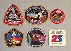 NASA PATCH LOT 6 Space Program  Shuttle STS Mission Embroidered Patches 265