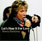 Benny Mardones - Lets Hear It for Love ** Free Shipping**