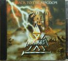 AXXIS  -  Back to the Kingdom BULGARIA SILVER CD 199?....FREE SHIPPING