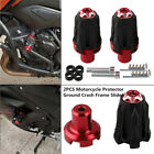 2PCS Motorcycle 10MM Frame Engine Protector Ground Crash Slider Cap Bolt M10