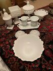 Wonderful Vintage Lot of White Milk Glass