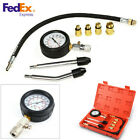 Motor Petrol Gas Engine Cylinder Compression Test Pressure Gauge Diagnostic Tool