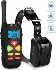 Training Bark E Collar Pet Shock Waterproof Rechargeable Remote Small Big Dog