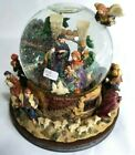 Vintage Christopher Radko Nativity Snow Globe Music Box Little Town of Bethlehem