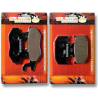 F+R Brake Pads for Suzuki RM 125 250 RMX250 [89-95] DR250 [90-95] DR350 [90-96]
