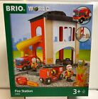 Brio World Wooden Railway Fire Station #33833