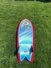 Stamps Psychedelic 57 Fish Surfboard New