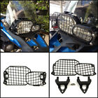 Black Front Headlight Lamp Grill Protector Guard For BMW F800GS F700GS 2008-2016