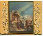 VINTAGE CHRISTMAS NATIVITY DOMENICO MASTROIANNI ISRAEL JERUSALEM GREETING CARD