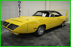 1970 Plymouth Road Runner 1970 Plymouth SUPERBIRD 21186 Miles Used Manual B