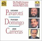 Pavarotti; Domingo; Carreras (CD) - **DISC ONLY**