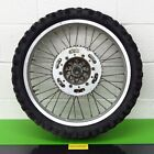 Kawasaki KX 125  KX125 Rear Wheel Hub rim tire Sprocket Decent Shape! 1989
