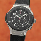 Hublot Big Bang Evolution Chronograph Automatik Stahl Herrenuhr 301 NP: 13400,-€