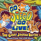 Go Diego Go Live! The Great Jaguar Rescue (CD) - **DISC ONLY**