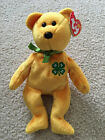Ty Beanie Baby Special Edition 4H Gold Bear Date of Birth October 2, 2004 w/tag