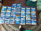 LOT OF 30 HOT WHEELS ALL TRUCKS  CONSTRUCTION IN PACKAGE FROM LATE 90S 2000S