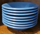 Set of 8 Fiesta Stacking 11 oz. Cereal Bowls Lapis Excellent Condition