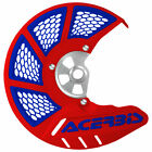 Acerbis X-Brake Vented DiscCover w/Mount/Blue-Fits:KTM 525 SX 4-Stroke 2003-2006