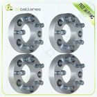 4Pc 15 5x55 to 5x5 Wheel Spacers Adapter 1 2x20 Ford E150 Dodge Durango