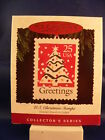 HALLMARK ORNAMENT 1995 U.S. CHRISTMAS STAMP 3rd. & FINAL  EDITION-----DATED