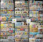 Worldwide Stamp Collection MNH 30 Full Sets from 30 Different Countries  Gift