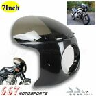 7 Inch Headlight Fairing & Smoke Windscreen For Honda CB 200 250 350 360 400 650