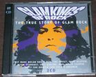 GLAMKINGS OF ROCK The True Story Of Glam Rock 2CD Set VGC Sweet Quatro Mud T-Rex
