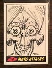 Top 10 2012 Topps Mars Attacks Sketch Card Sales 13