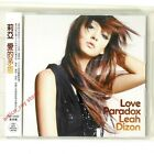 Leah Dizon Love Paradox Taiwan Single CD DVD 2008 NEW