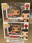 Funko POP Dr. Ian Malcolm Wounded #552 Jurassic Park Target Exclusive NEW error