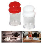 2PC Salt  Pepper Shakers Set Modern Spices Jar BPA Free Plastic Kitchen Camping