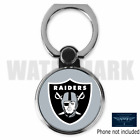 OAKLAND RAIDERS CUSTOM ROUND CELL MOBILE PHONE RING HOLDER STAND FREE SHIP