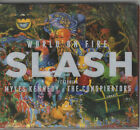 SLASH - WORLD ON FIRE CD DIGIPAK WITH CLEAR SLIP CASE