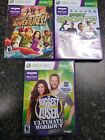 Xbox 360 Kinect 3 Game Lot Kinect Adventures Biggest Loser and Sports