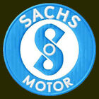 SACHS MOTOR EMBROIDERED PATCH~2-3/4
