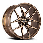 20 Savini SV F5 Bronze 20x9 20x11 Forged Concave Wheels Rims Fits Cadillac CTS