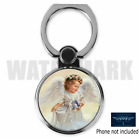 ANGEL RELIGIOUS CUSTOM ROUND CELL MOBILE PHONE RING HOLDER STAND D4 FREE SHIP
